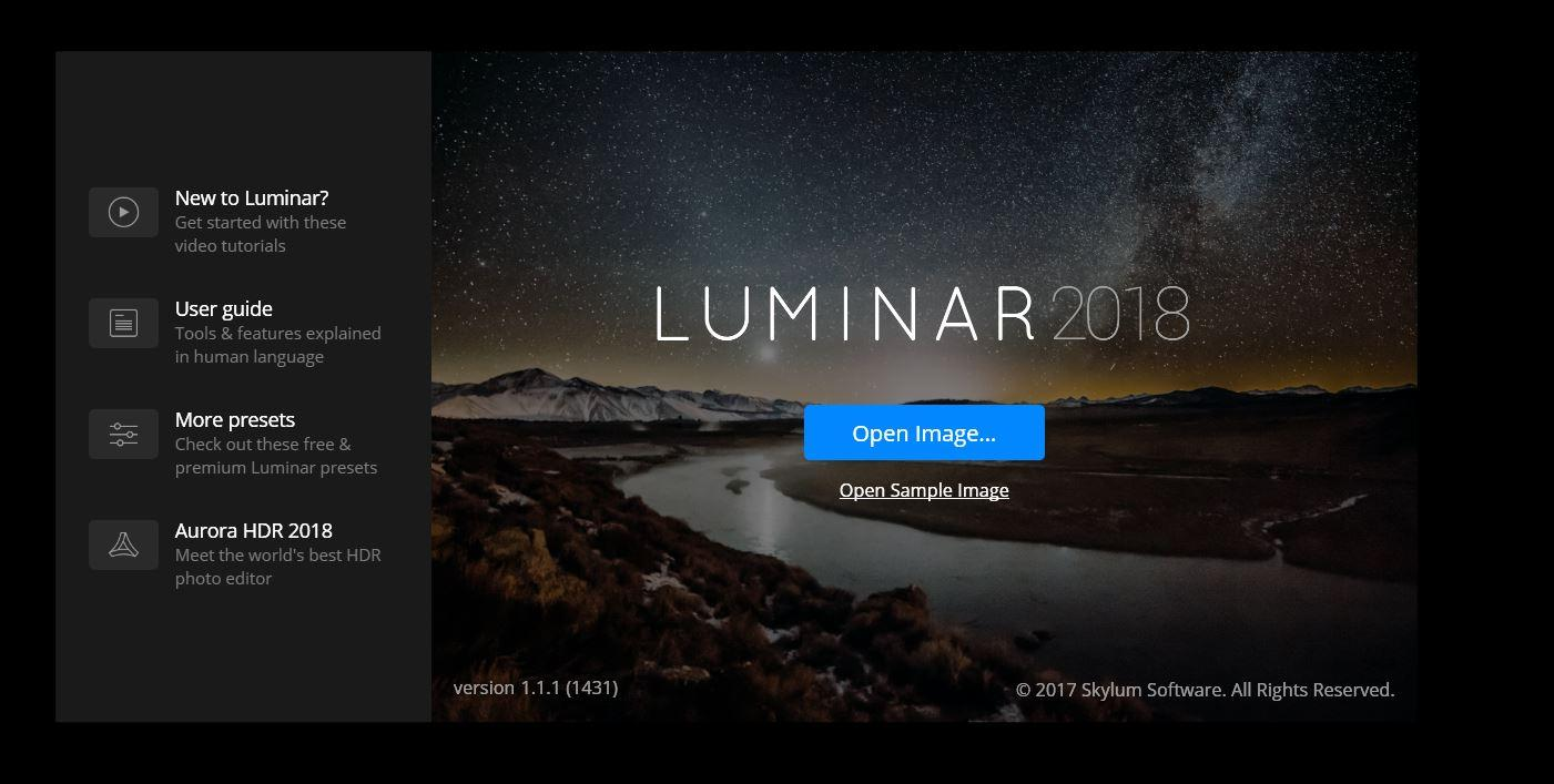 Luminar Windows 2018 Aktualizacja 2018-01-30