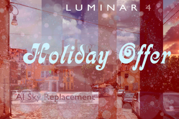 Luminar 4 Holiday Offer -10$ off
