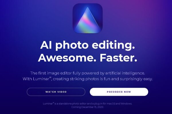 The first image editor fully powered by artificial intelligence.