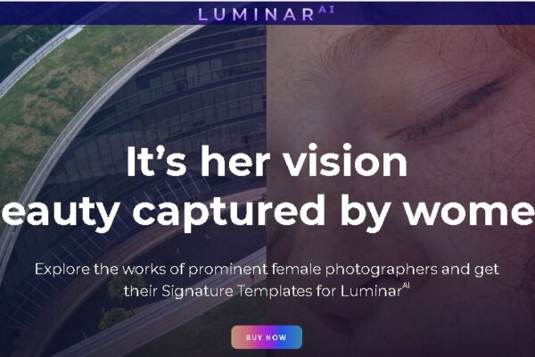 Woman's Day Sale campaign LUMINAR AI